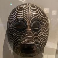 Máscara Kifwebe Luba, cerca de 1912