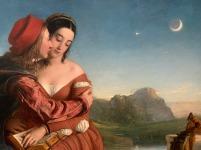 William Dyce(1805-1864), Francesca de Rimini, 1837