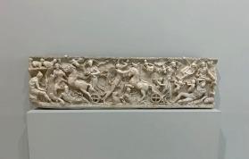 Sarcófago em mármore: Diana e Endimião, Roma, cerca de 210 depois de J.C. Col. Louvre