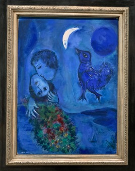 "Marc Chagall, ""Paisagem Azul"", 1949"
